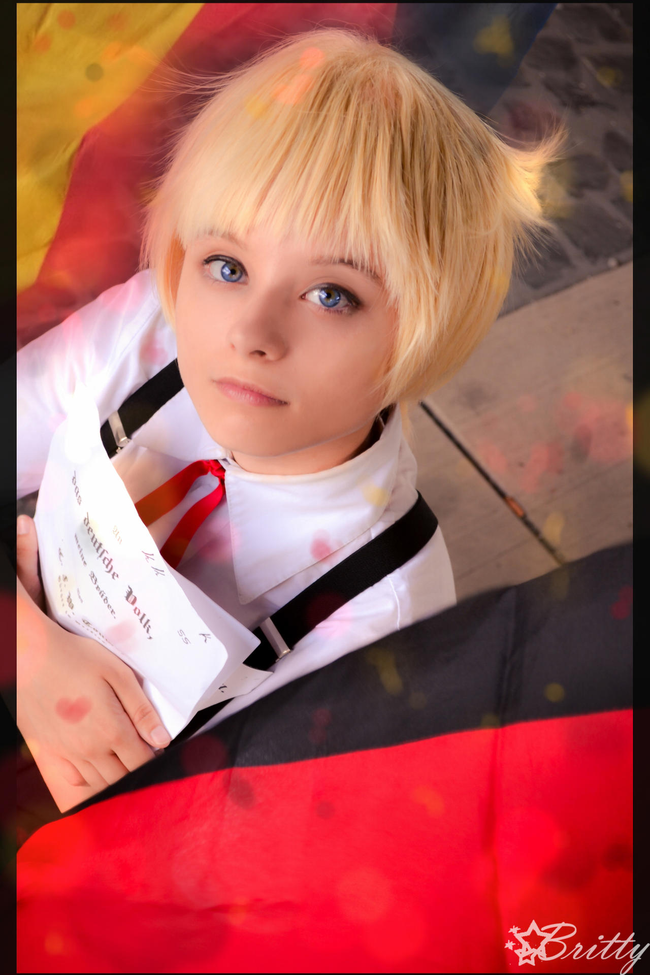 Hetalia Germany - Black, Red and Gold by Nazu-chan