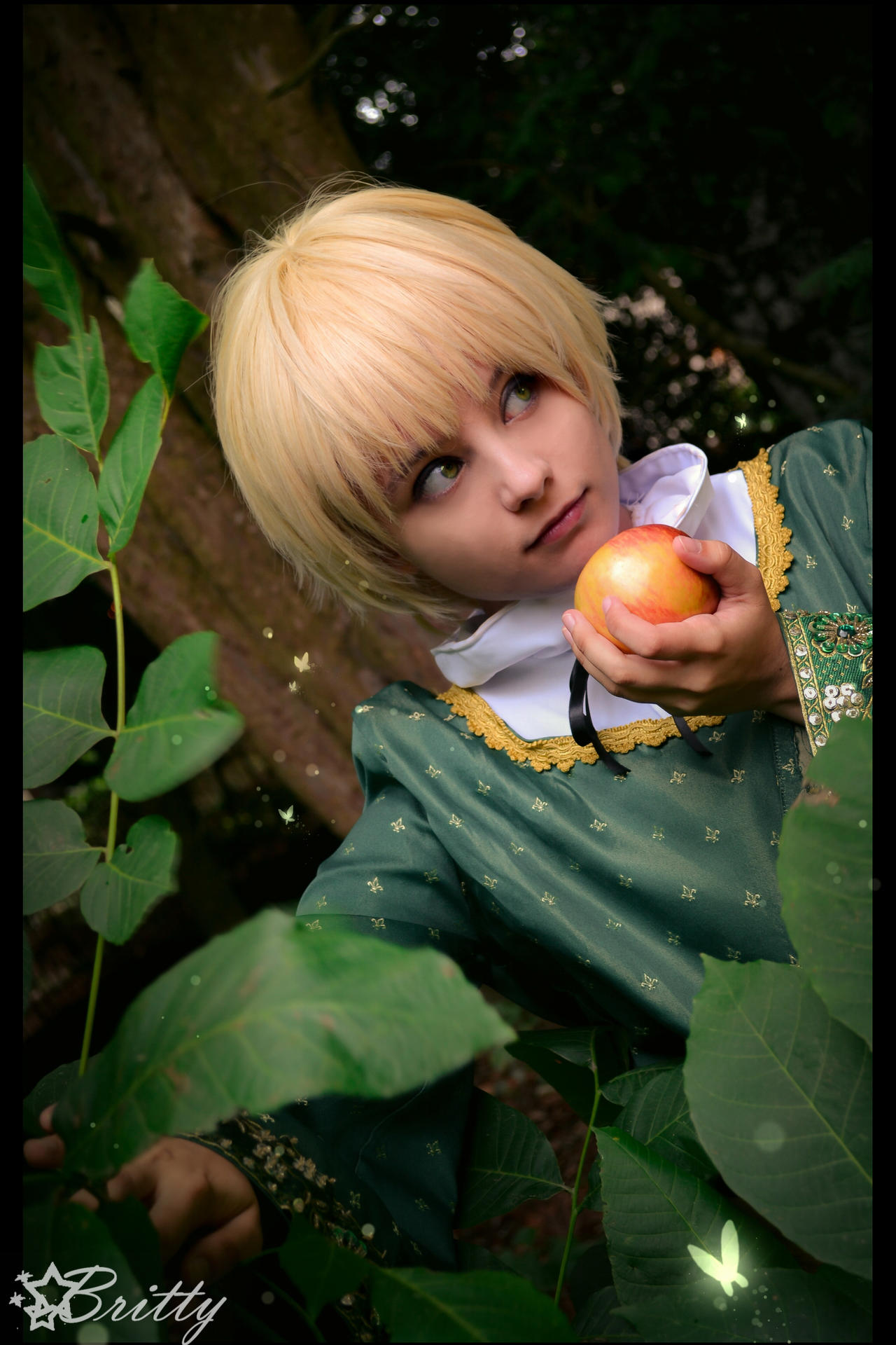 Hetalia England - Through the woods by Nazu-chan