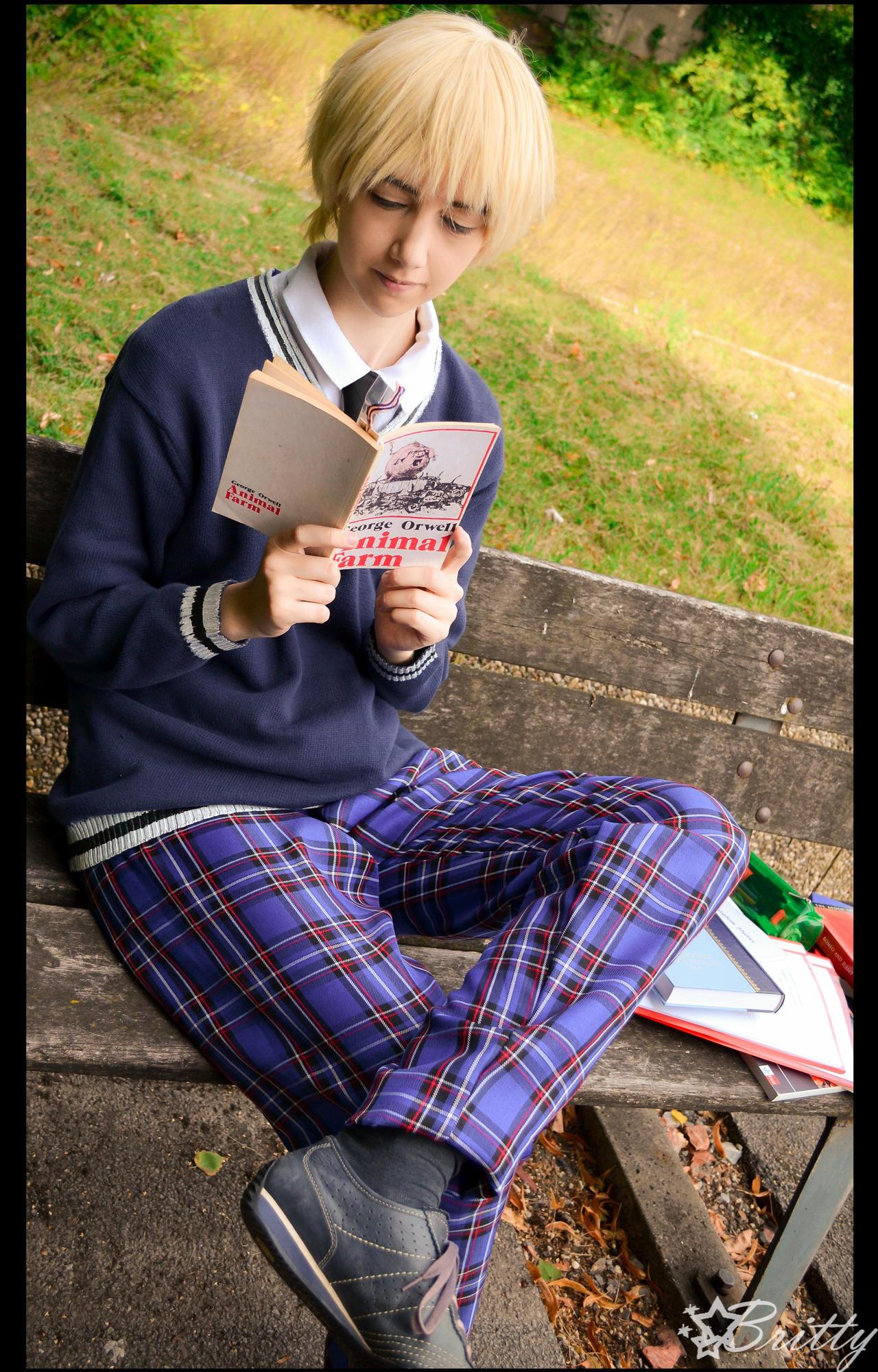 Hetalia England - Literature by Nazu-chan