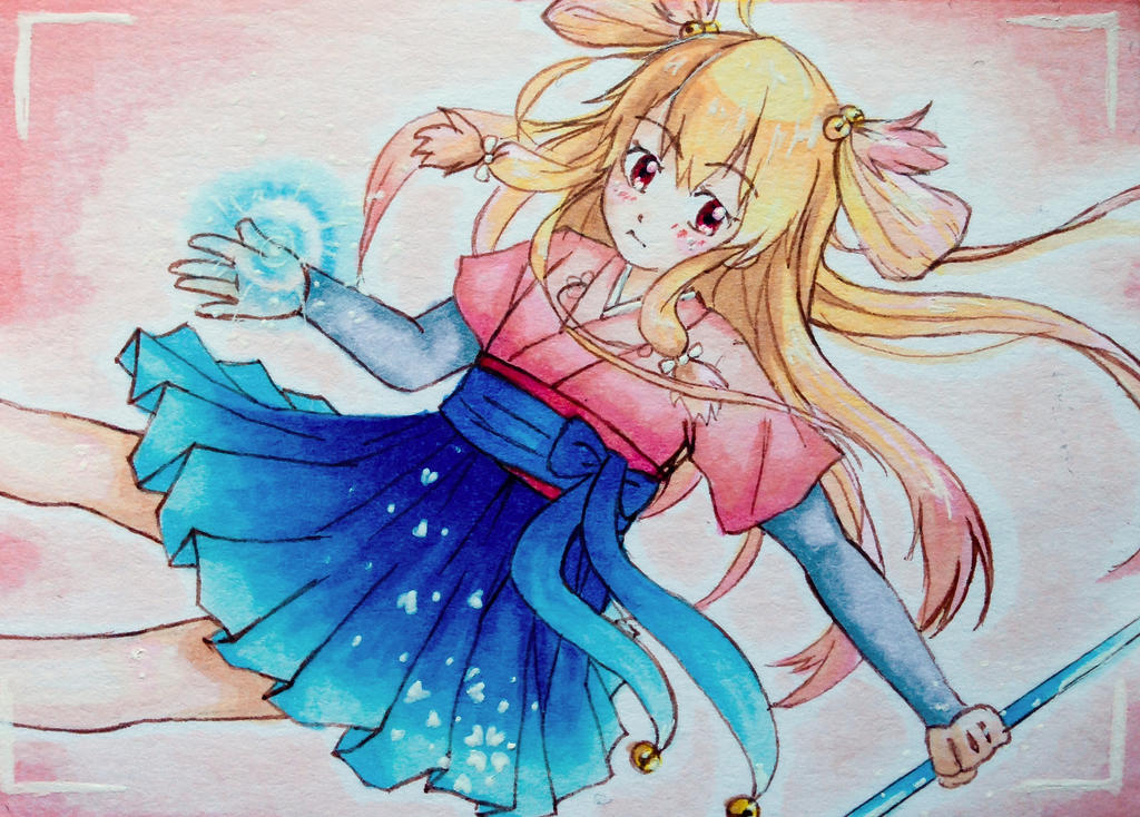 Little Priestess by Nazu-chan