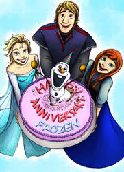 Happy 1st Anniversary Frozen!