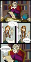 Elsa's Eyeglasses Comic