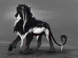 Lion design by Alaiaorax