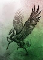 Pegasus by Alaiaorax