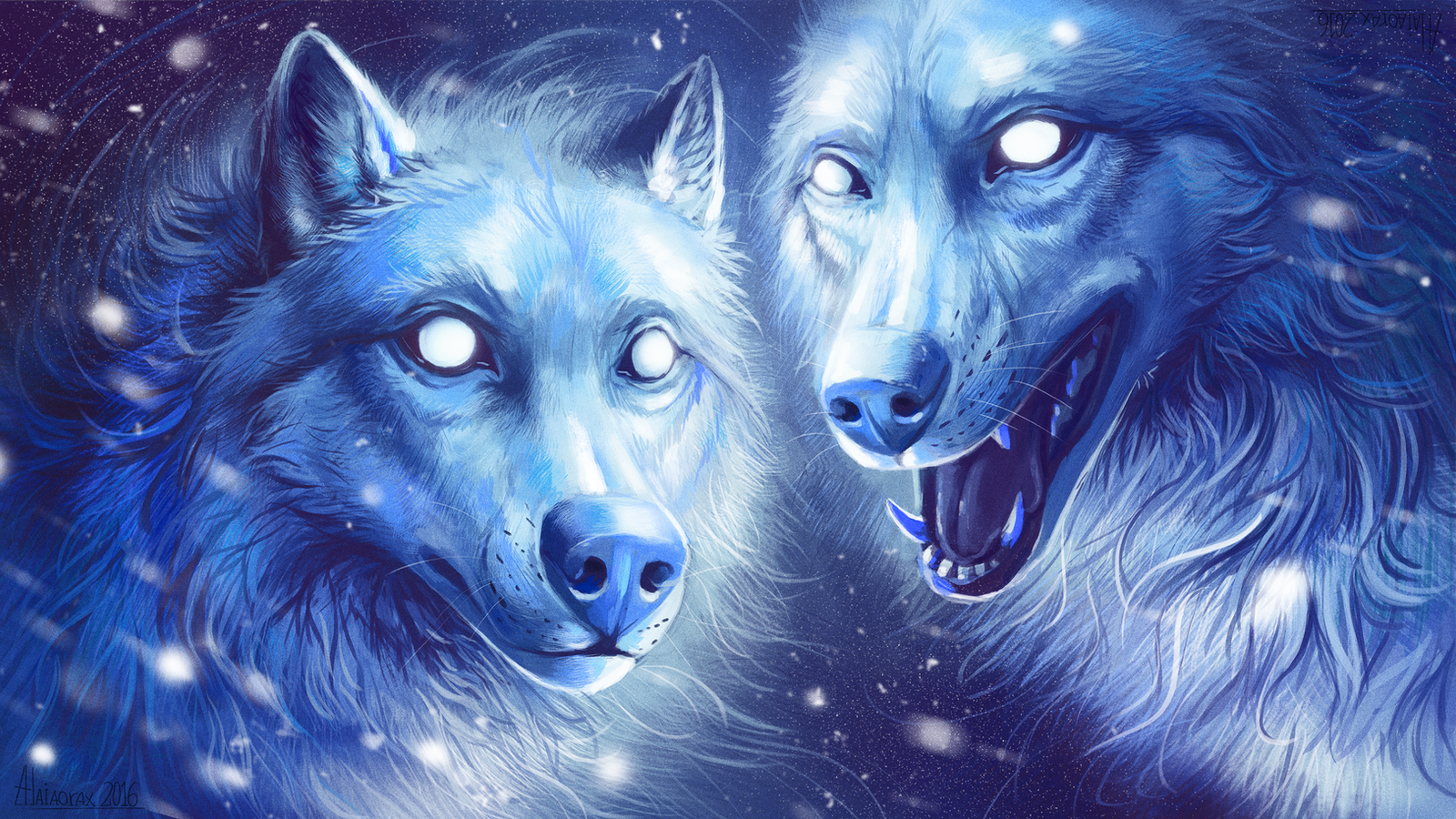snow_wolves_by_alaiaorax-d9vww3l.png