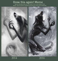 Before and After - 2014/2016 by Alaiaorax