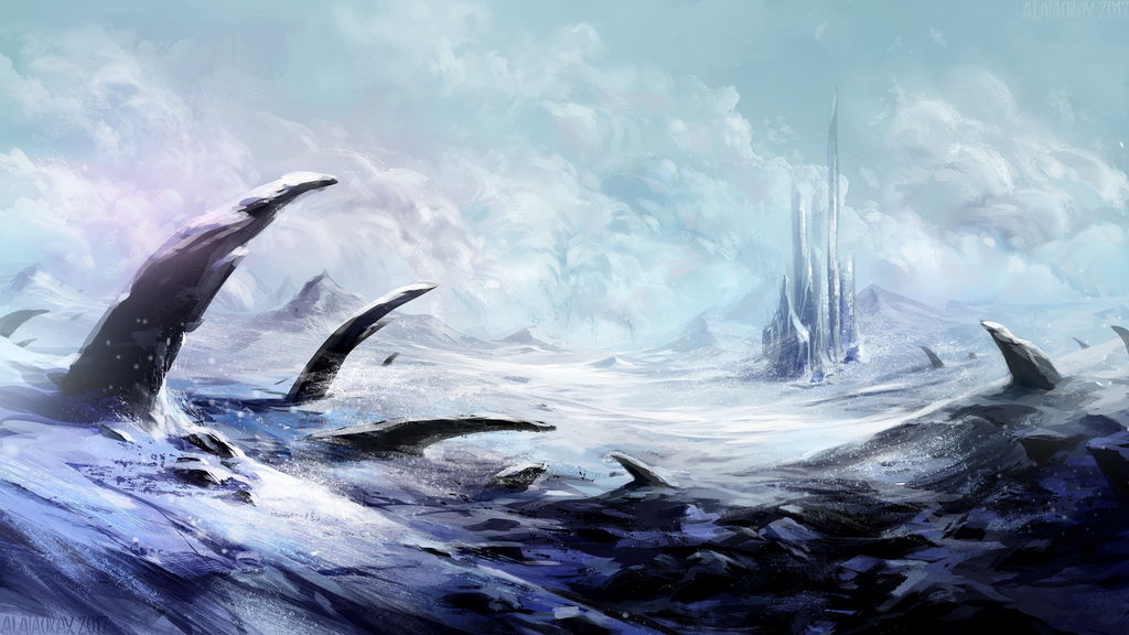 Cold is everywhere by Alaiaorax