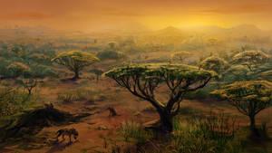 Hyena's lair