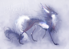 Lightning Mist creature design by Alaiaorax