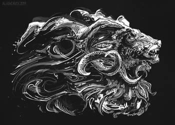 Dogrose by Alaiaorax