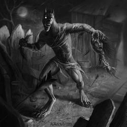 Black beast by Alaiaorax