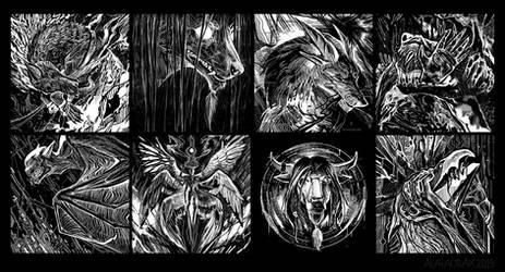Dark things by Alaiaorax
