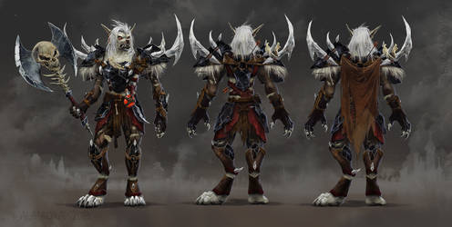 Worgen reference sheet