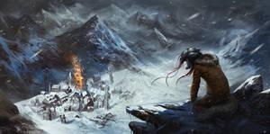 The still, cold world