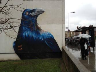 Prtichards Road Crow. Hackney. London. by Boe-art