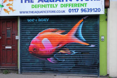 North Street Fish. Bristol