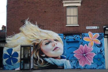 Teesdale Street, London. E2 by Boe-art