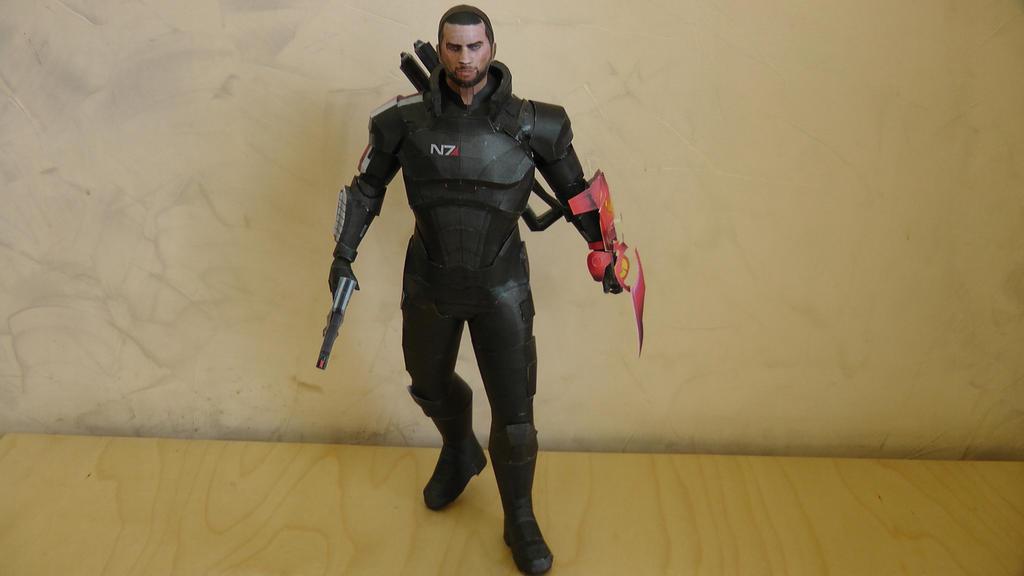 Commander Shepard by arc5555