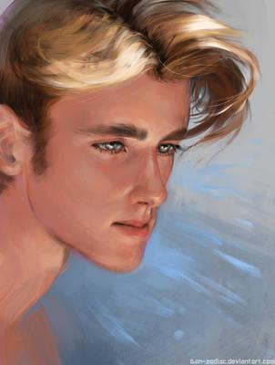 Portrait practice by Dan-zodiac