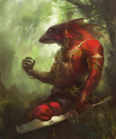 Lizardman by Lord-of-the-slugs