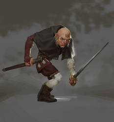 Jean-Michel the gallant swordsman