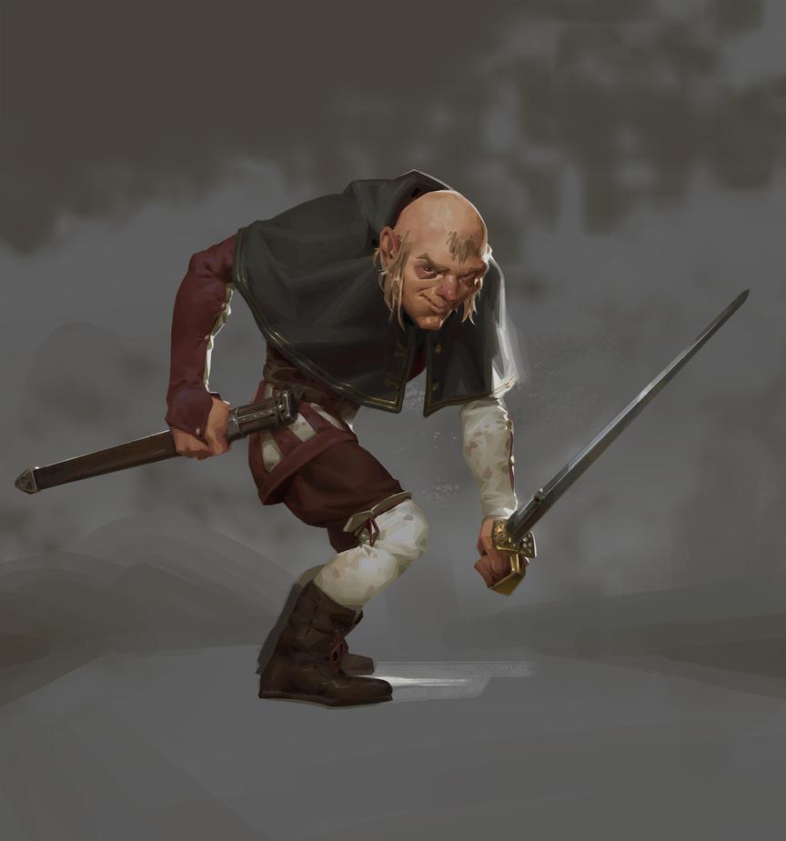 Jean-Michel the gallant swordsman by Lord-of-the-slugs