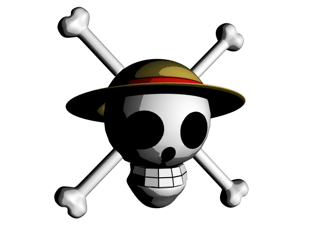 Strawhat Symbol 3d By Sachieldx On Deviantart