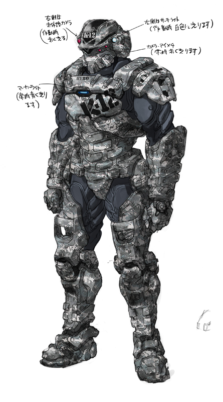 Starship troopers Invasion Henry Varro  (hero) by RyuKomagora8