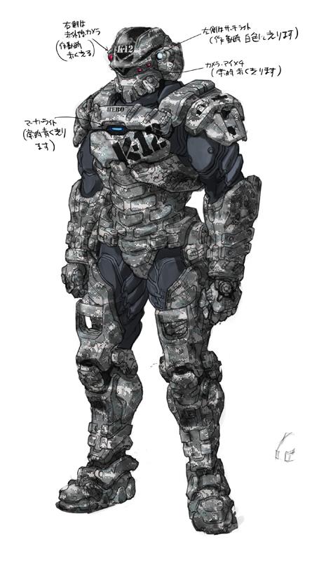 Starship troopers Invasion Henry Varro  (hero) by RyuKomagora8