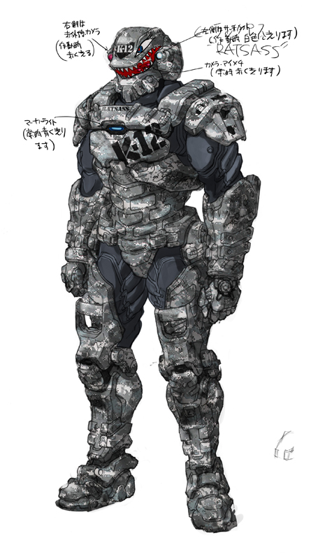 Starship troopers invasion Ratsass by RyuKomagora8