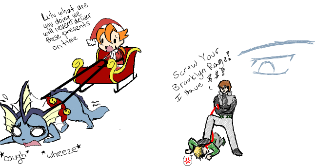 collab - iScribble - YGO-Pkmn by Aisuryuu