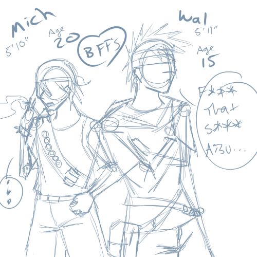 sketches - Mich n Wal by Aisuryuu