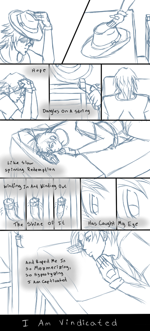 sketch song comic - TeenMich by Aisuryuu