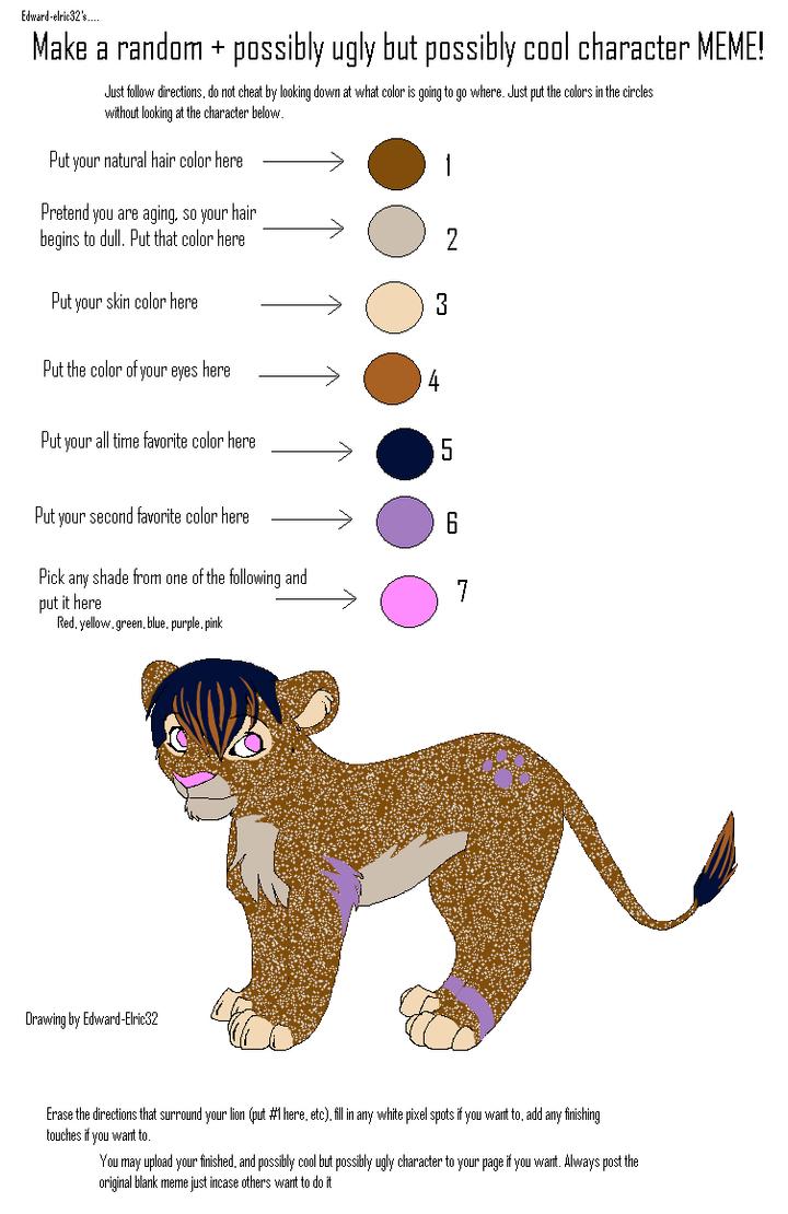 Sparkle Lion Meme by Aisuryuu