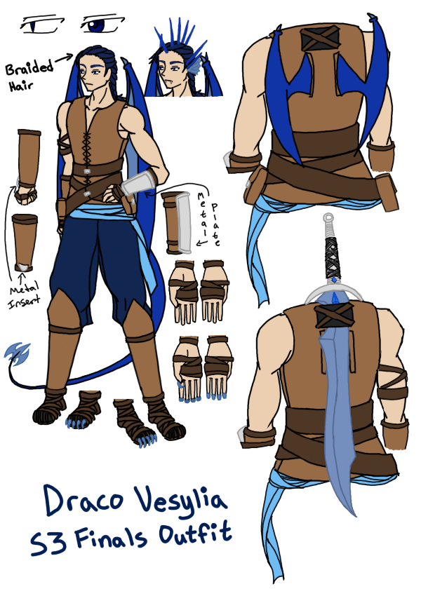 AoH S3 Finals - Draco Ref by Aisuryuu