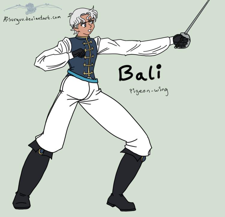 Giftart - Bali Fencing by Aisuryuu