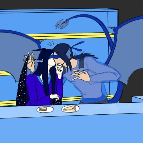AoH - Force Feeding Crepe by Aisuryuu