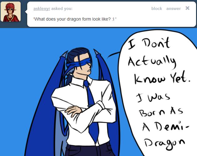 AskDraco - Dragon Form by Aisuryuu