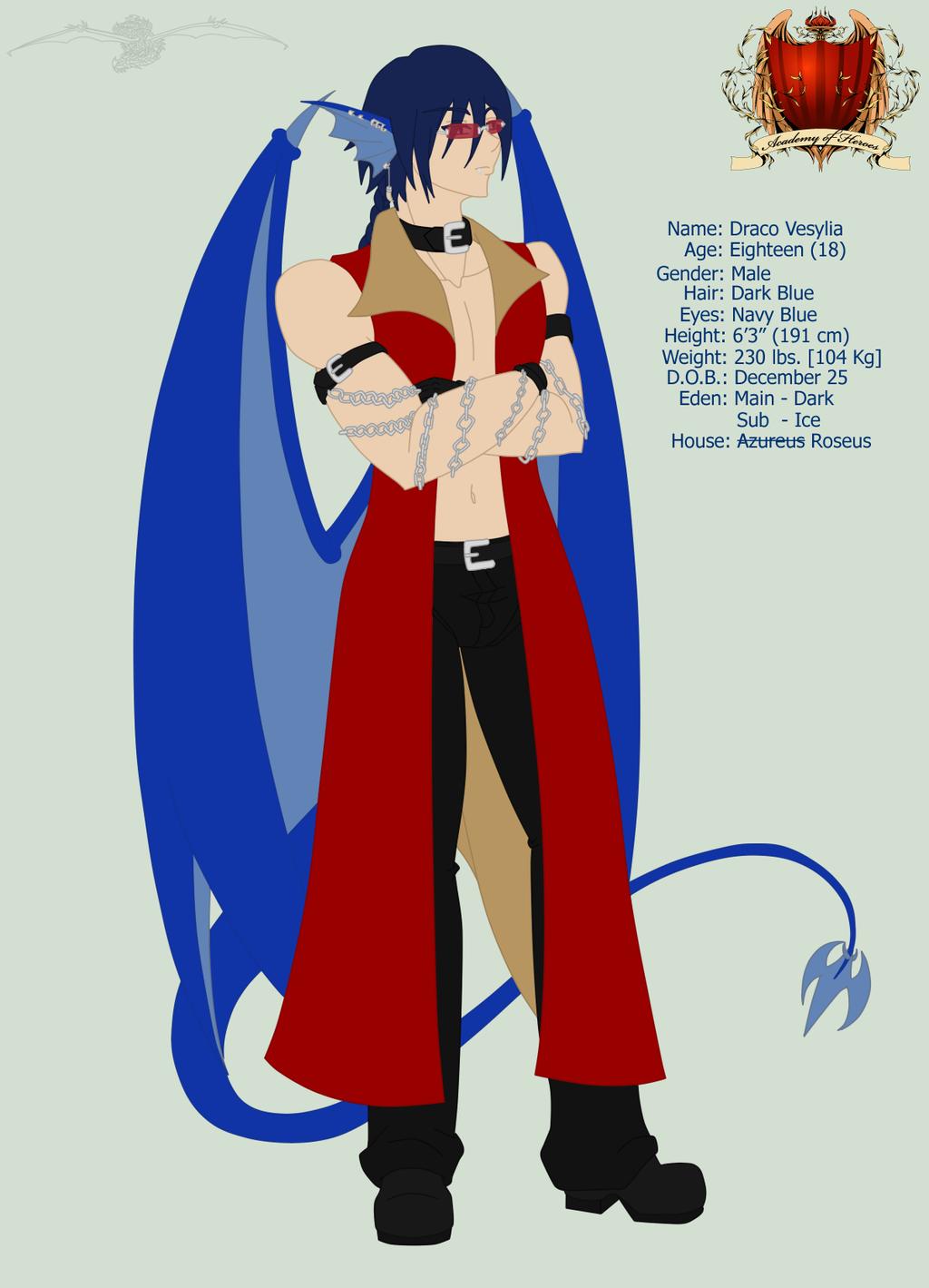 AoH - Draco - Roseus by Aisuryuu