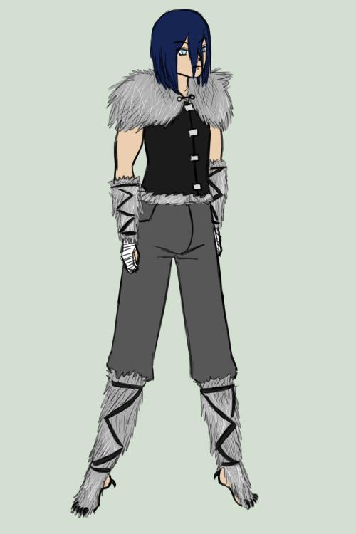 AoH Winter Ball - Draco - Grey Wolf by Aisuryuu
