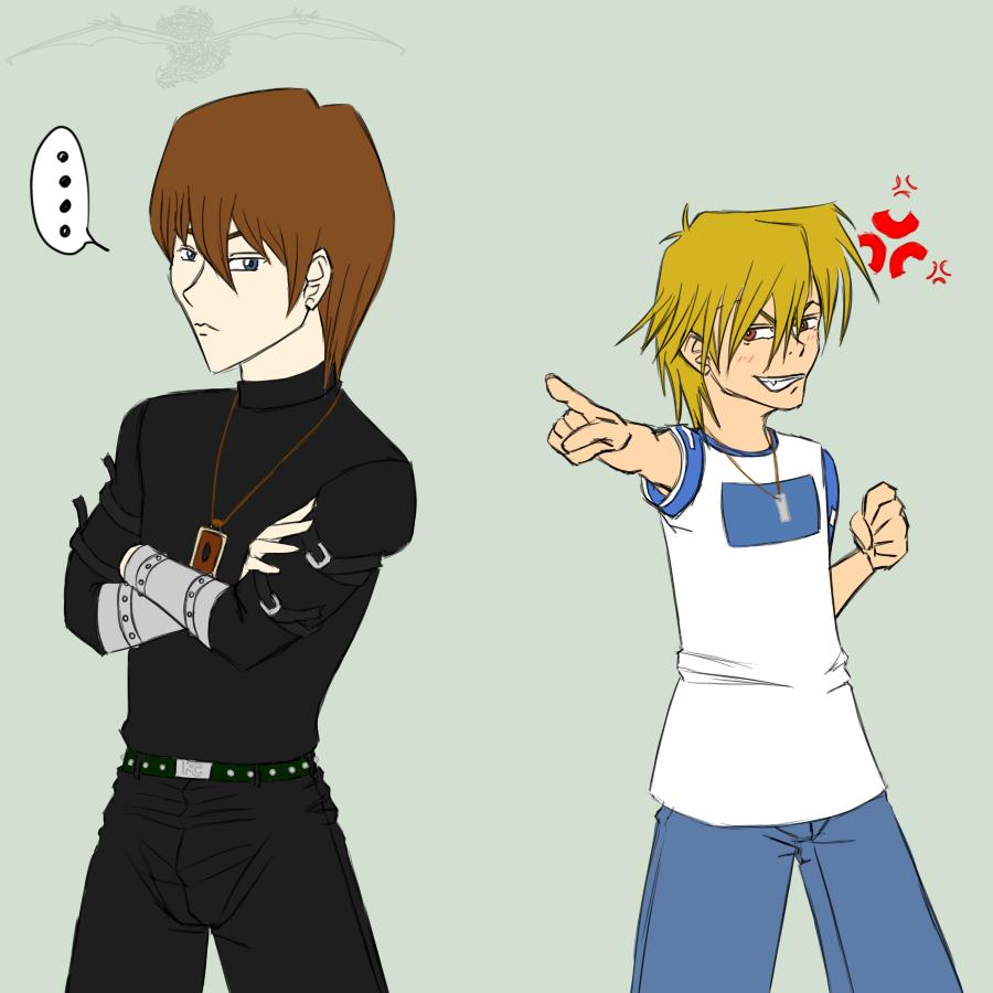 YGO - Seto and Jou - Request? by Aisuryuu