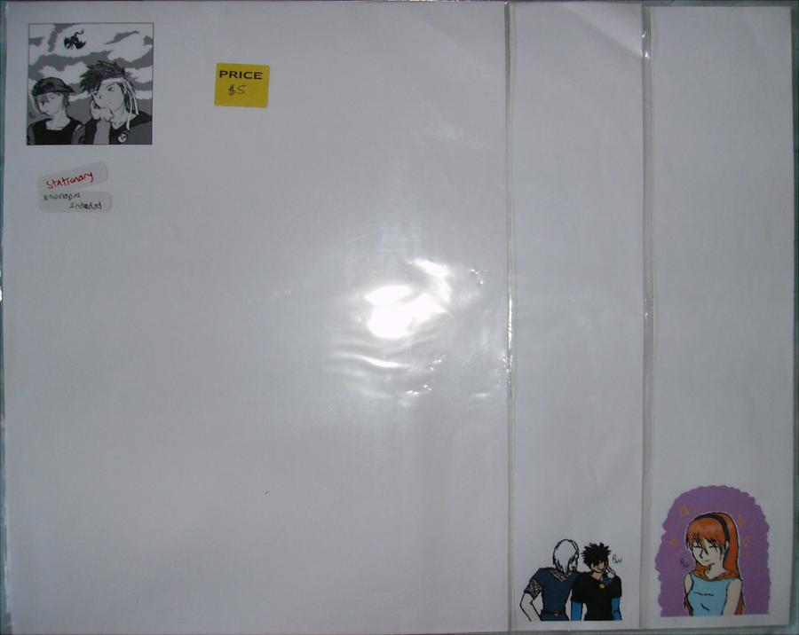Stationary Sale! PokeOC's 1 by Aisuryuu