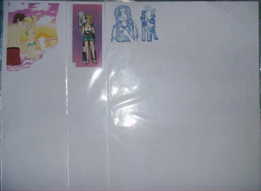 Stationary Sale! Couples Set 1 by Aisuryuu