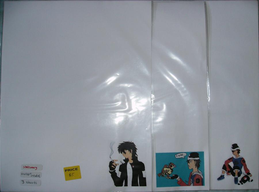 Stationary Sale! Micheal Set 2 by Aisuryuu