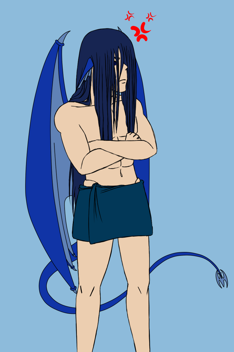S4 - Fall - Draco's Long Hair by Aisuryuu