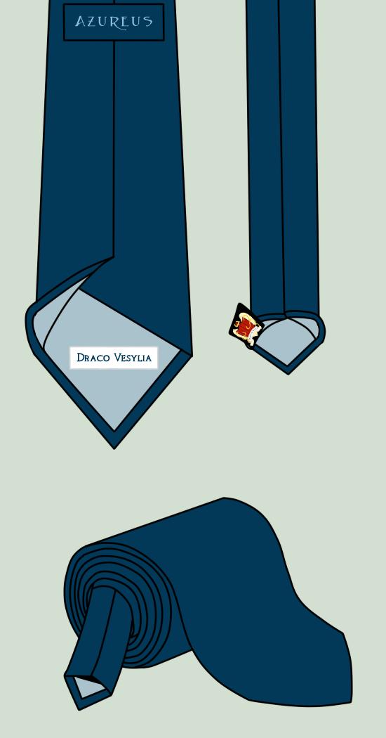 Azureus Tie by Aisuryuu