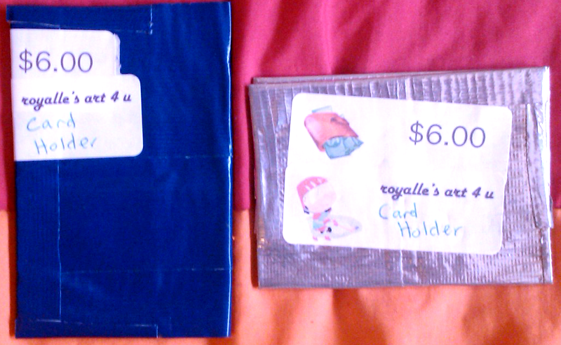 [ - Bifold Duck Tape Card Holder 2 - ] by Aisuryuu