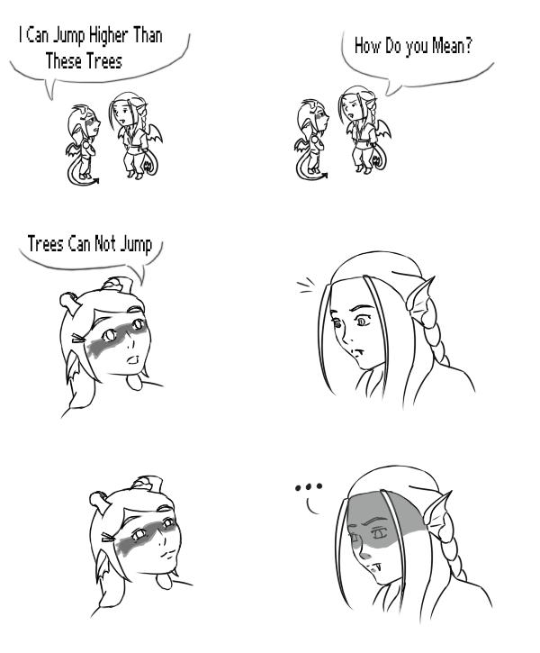 Crack Comic - Dragon Humor by Aisuryuu