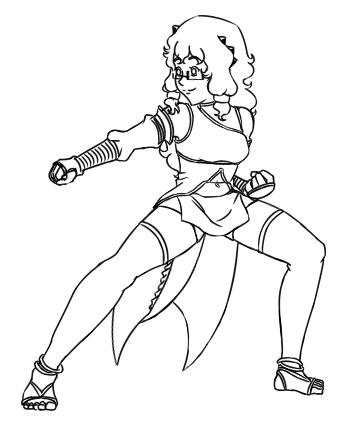 Lendys - Hero for Justice (combat spar) - lines by Aisuryuu