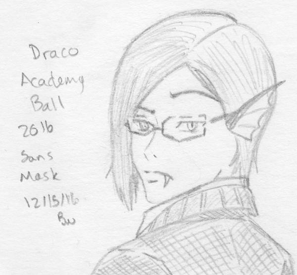 Draco Doodle - Academy Ball hair by Aisuryuu